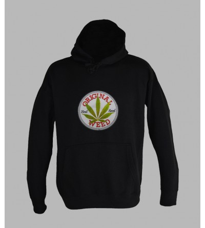 SWEAT WEED 420, ACHAT ET VENTE DE PULL A CAPUCHE WEED 420 HOMME - SHOP