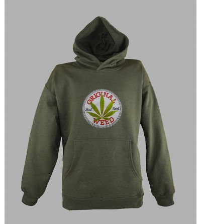 SWEAT WEED 420 PAS CHER - ACHETER PULL A CAPUCHE WEED HOMME - BOUTIQUE