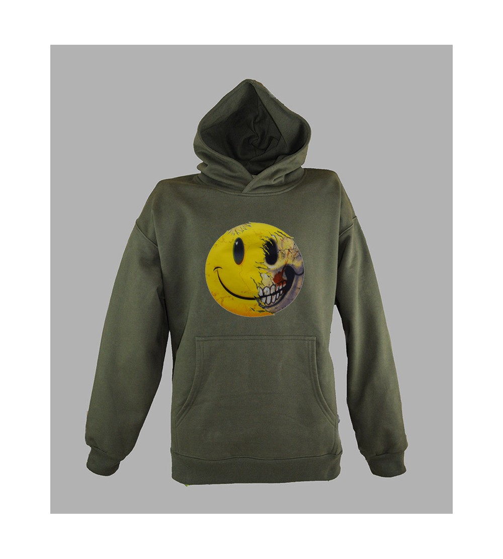 Sweat Smiley Pas Cher acheter pull à capuche smiley homme