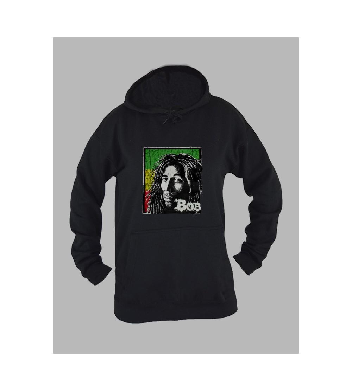 Sweat a capuche femme Bob Marley