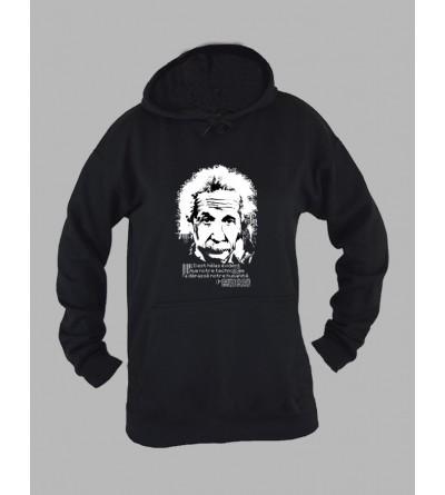 Sweat capuche femme Albert Einstein