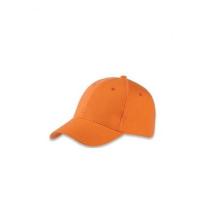 Casquette homme été orange