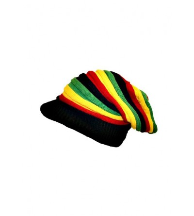 Bonnet rasta homme '' vert jaune rouge ''