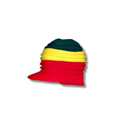Bonnet homme vert jaune rouge