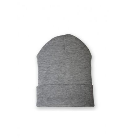 Bonnet homme gris clair