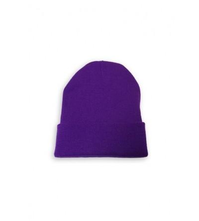 Bonnet homme violet