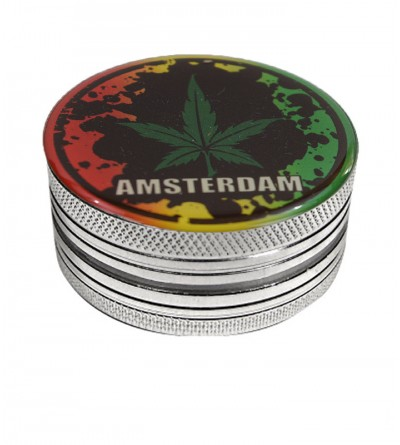 Grinder weed en alu 2 parties 50mm