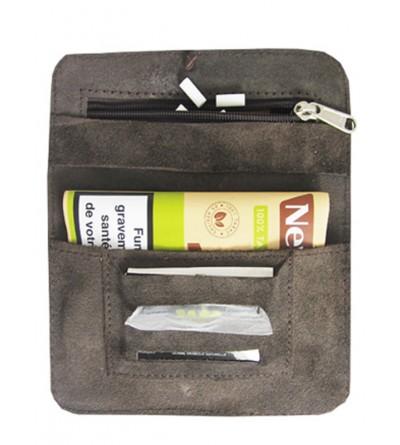 bague à tabac en cuir souple à petit prix... transporter votre tabac et tout votre attirail de fumeur, pensez à la blague tabac