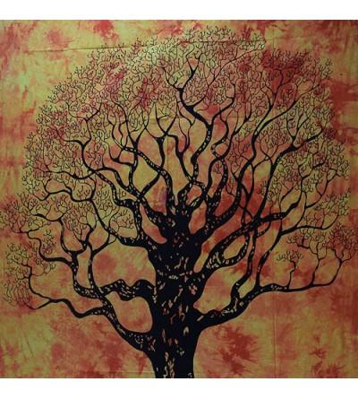 Tenture murale arbre de vie, acheter pas cher tenture murale arbre de vie... collection de tentures murales pas chère...