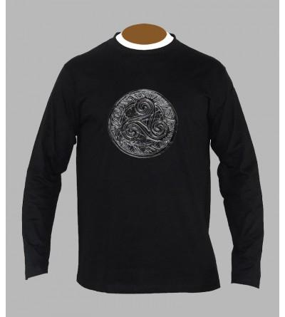 T-shirt breton triskel manches longues