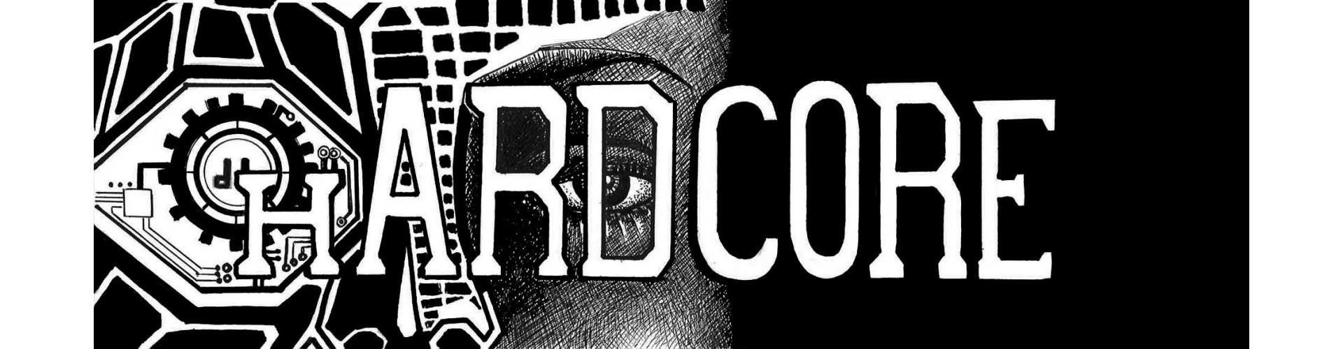 T-Shirt Hardcore Homme original, tee shirt hardcore homme pas cher