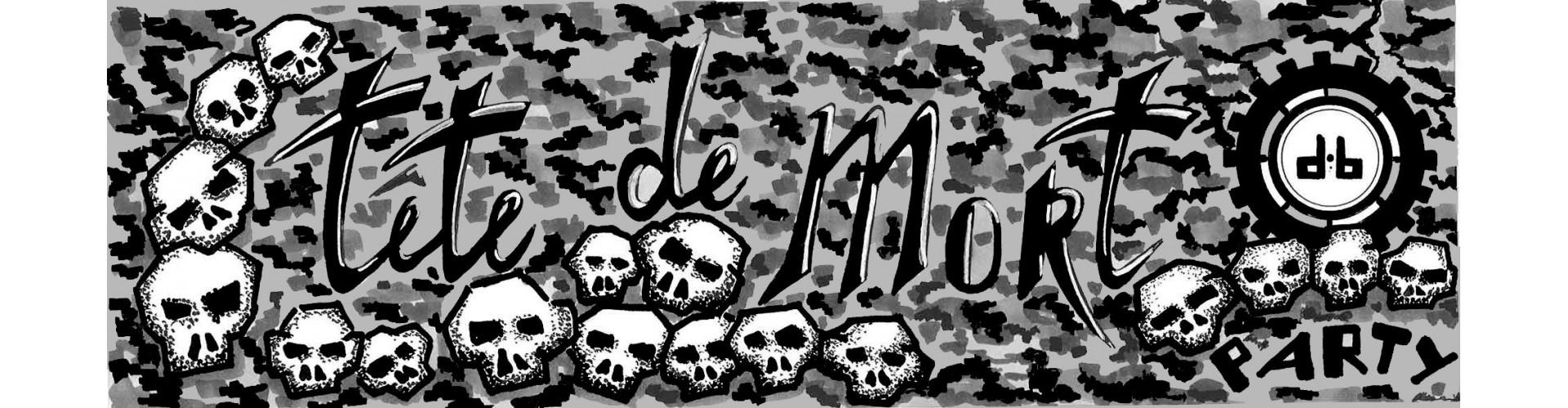 T-Shirt Tête De Mort Homme pas cher, T-Shirt tête-de-mort Skull