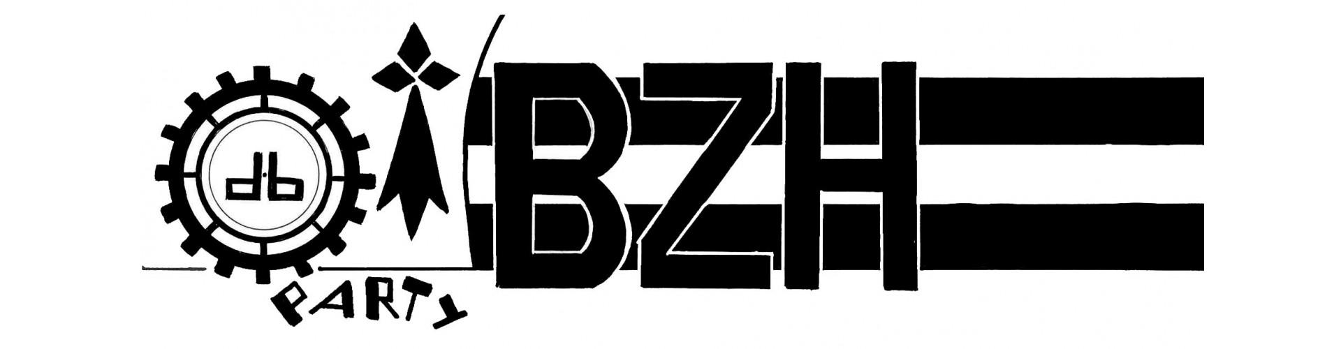 T-Shirt Breton Homme BzH Breizh - Amoureux de la Bretagne