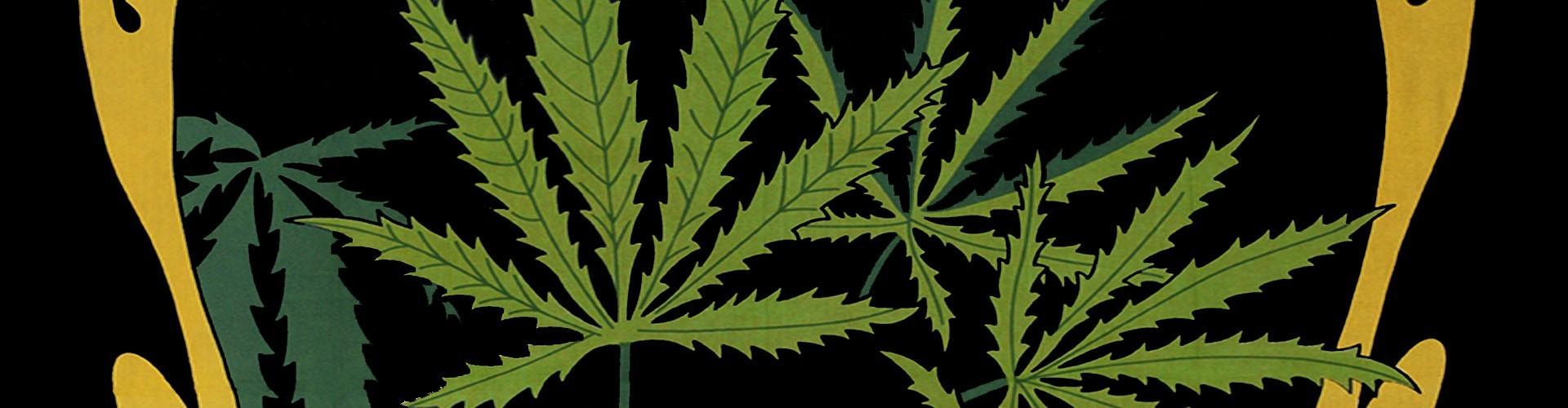 Tenture Feuille de Cannabis pour les adeptes de la weed