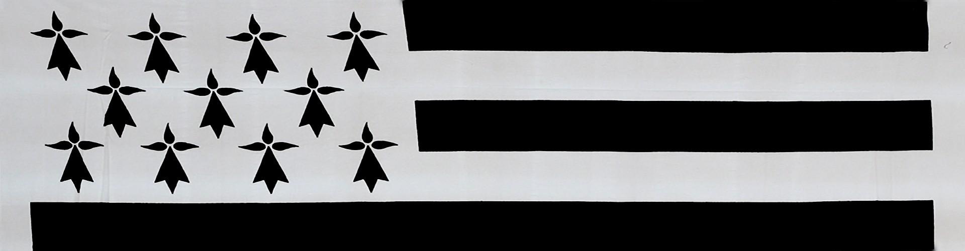 Drapeau Breton BzH, l'emblème de la Bretagne, drapeau breton pas cher